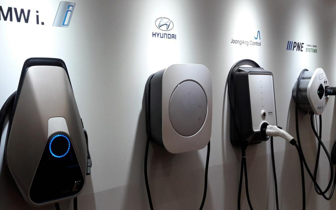 Commercial EV Chargers – 4 Types